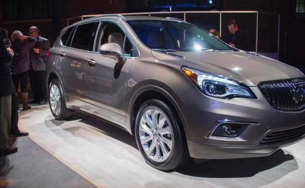 The Buick Envision, built in China, was on display at the North American International Auto Show in Detroit. It will soon go on sale in the U.S.