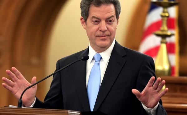 Kansas Gov. Sam Brownback opposes legislative efforts to expand the state's Medicaid program.