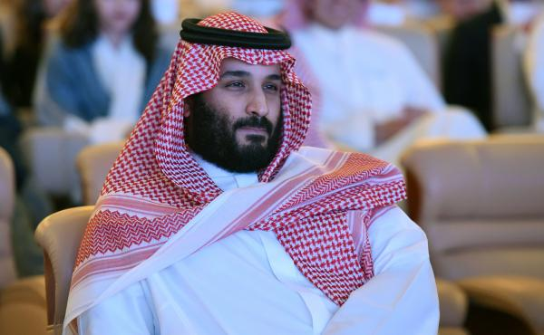 """Saudi Crown Prince Mohammed bin Salman attends the Future Investment Initiative conference in Riyadh last month. """"We are returning to what we were before — a country of moderate Islam that is open to all religions and to the world,"""" he said at the econo"""