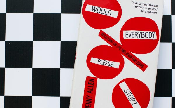 Would Everybody Please Stop?: Reflections on Life and Other Bad Ideas, by Jenny Allen