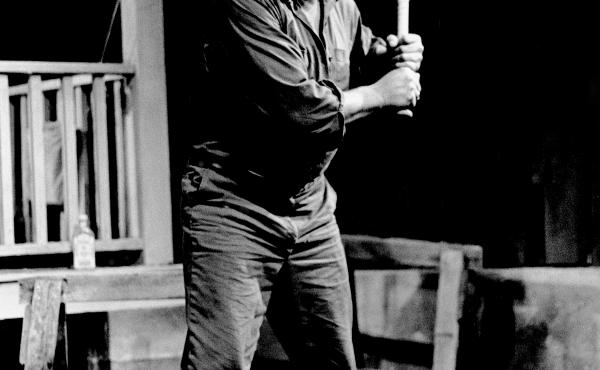 James Earl Jones stars in August Wilson's Fences in 1985. Fences is one of several plays Wilson premiered at the Yale Repertory Theatre.
