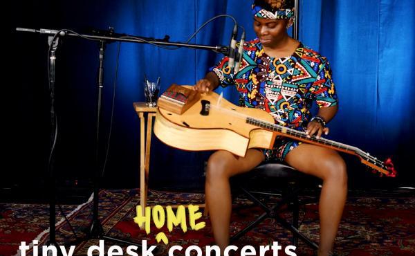 Yasmin Williams performs a Tiny Desk (home) concert.