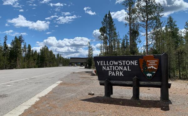 Yellowstone National Park begins a phased reopening Monday, with the park's Wyoming entrances slated to open for day use only.