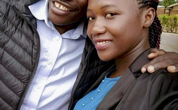 Shadrach Mugoya Levi and his wife, Naomi.